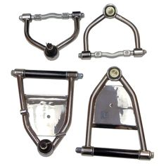 Mustang II Control Arms Narrow Upper Air Bag Lower Stainless Steel
