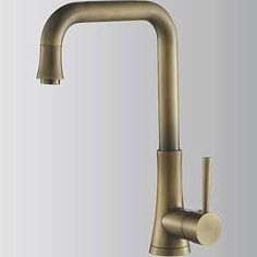 good combo of antique bronze finish with simple style. antique bronze kitchen taps - from lightinthebox