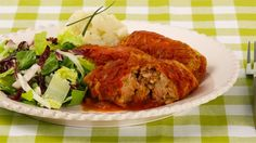 Cabbage Rolls - Recipes - Best Recipes Ever - Combine beef and pork in these classic rolls or use all beef if you prefer. Save leftover green cabbage for braising or stir-frying.
