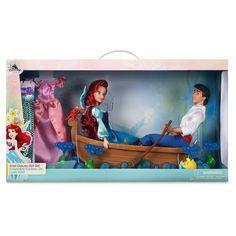 Product Image of Ariel and Eric ''Kiss the Girl'' Playset - The Little Mermaid # 3 Disney Barbie Dolls, Princess Barbie Dolls, Princess Toys, Disney Animator Doll, Disney Animators Collection, American Girl Doll Movies, Elsa And Anna Dolls, Disney Descendants Dolls, Disney Princess Nails