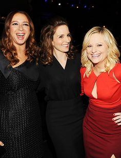 Funny and beautiful, what a great combo:  Maya Rudolph, Tina Fey, and Amy Poehler