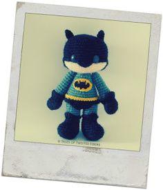Aprende a tejer a Batman Amigurumi