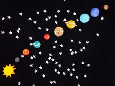 Learn about the Solar System in easy and fun way!  A set of 10 magnets (Sun, 8 Solar System Planets and Pluto) can be an unusual decoration on your refrigerator. Each has a strong magnet that will keep all important notes, documents or drawings on your fridge. They are also a great educational toy. They fit perfectly to a little hand (the smallest magnet is the size of £1 coin). They will help to learn planets names, recognize them visually and arrange them in the correct order. Little ones…