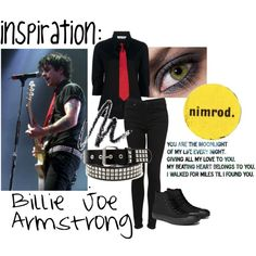 Mostly just pinning this because of the words on the side. But the outfit is cute too!  sc 1 st  Pinterest & Billie Joe Armstrong Halloween Costume Inspiration