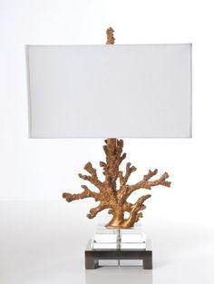 Living room  Naia Gold Lamp