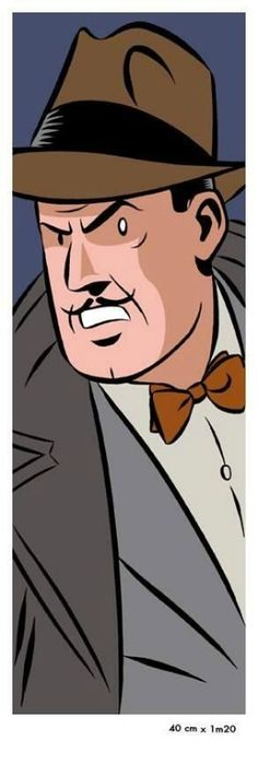 Olrik, the enemy of Blake and Mortimer.