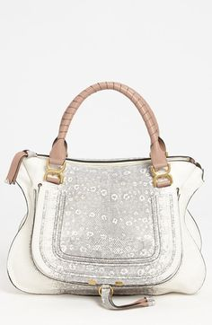523f72f3c7003 Chloé  Marcie - Large  Lizard Print Leather Shoulder Bag available at   Nordstrom Best