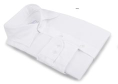 White Twill 2/100 dress shirt from Luxire: http://custom.luxire.com/products/white-twill-2-100  Features: NOBD 2 collar and 2-button cuffs.