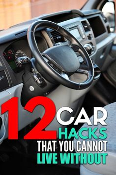 12 car cleaning hacks that will keep your car neat and organized. If you're a mom with small kids or teens, you need to try these car hacks! Easy car life hacks to keep your car organized on road trips or just everyday travels. Car Life Hacks, Car Hacks, Organisation Hacks, Car Interior Design, Car Cleaning Hacks, Clutter, Helpful Hints, Trust, Car Stuff