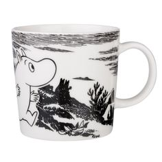 Arabia Finland and Iitala's distinctive mugs and kitchenware are illustrated with classic Finnish characters, including the Moomin collection. Arabia are extremely popular in Finland. Scandinavian Design Centre, Moomin Mugs, Classic Dinnerware, Tove Jansson, Finland, Home Accessories, Ceramics, Adventure, Tableware