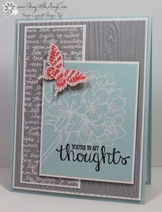 Stampin' Up! Best Thoughts With Papillon Potpourri | Stamp With Amy K