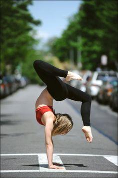 yoga everywhere   Belladonna: Healthy Is Sexy