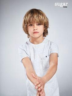 Noahn from Sugar Kids for Massimo Dutti.