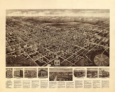Egg Harbor City, Atlantic Co., New Jersey (NJ) 1924;  Hughes & Cinquin.   Reproduction Vintage Map Print.  Available in different size.