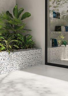 Medley Range - Stone & Tile Studio Tiles For Sale, Alfresco Area, Weekend House, Terrazzo Flooring, Wall And Floor Tiles, Corner Designs, Stone Tiles, Beautiful Interiors, Classic White