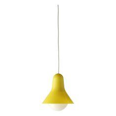 KERAINTERIOR LISABELL, Riippuvalaisin halk.18,5 cm keltainen - Isku