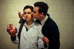 Moriarty and Molly (BBC), bring me Sherlock's heart.. by NellieSchwarz.deviantart.com on @deviantART