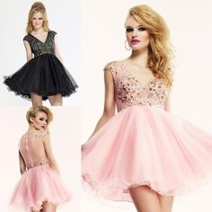 Find More Homecoming Dresses Information about Shining Girls V neck Crystals Knee Length Homecoming Dresses 2015 Tulle Sleeveless Beaded Short A line Zipper Cocktail Dress Hot,High Quality dress sex,China dresses leopard Suppliers, Cheap dress tshirt from Girls' Moment on Aliexpress.com