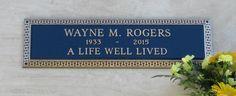 Wayne Rogers, Westwood Memorial Park. Photo by Mark Masek.