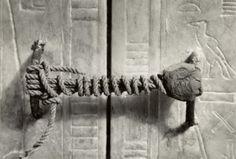 Unbroken Seal on King Tutankhamen's Tomb