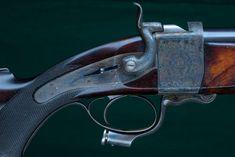 Alexander Henry Falling Block Single Shot Rifle 12 Bore