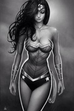Wonder Woman by Nathan Szerdy #dccomics #diana #amazon