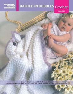 Bathed in Bubbles Baby Afghan