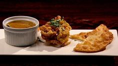 Deep Fried Soft Shell Crab with Roti Chennai - Jimmy Seervai - Contestant