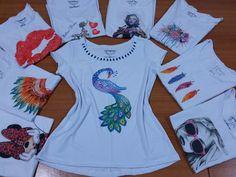 Tshirts personalizadas | Flor di Lis | Elo7