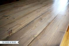 water based gray stain | Rustic Yet Refined Wood Finish
