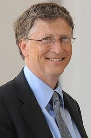 Bill Gates: Life is not fair; get used to it.