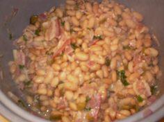 Drunken Peruano Beans With Cilantro and Bacon Recipe