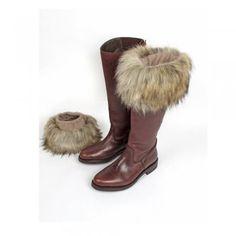 fur boot topper