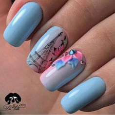 Opi Gel Pedicure Manicures Ideas For 2019 Diy Nagellack, Nagellack Trends, Glitter French Manicure, Manicure And Pedicure, Hair And Nails, My Nails, Paris Nails, Paris Nail Art, Nails 2018