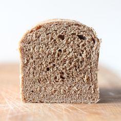 Whole Wheat Sourdough Sandwich Loaf - Scratch Eats Sourdough Sandwich Loaf Recipe, Wholemeal Bread Recipe, Sourdough Recipes, Sourdough Bread, Flatbread Recipes, Dough Starter Recipe, Starter Recipes, All You Need Is, Whole Wheat Sourdough