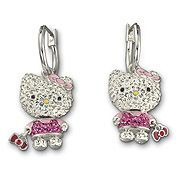 Hello Kitty Pierced Earrings
