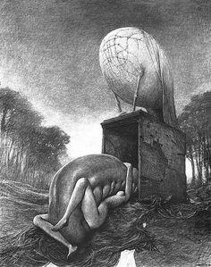 終焉の画家 - ズジスワフ・ベクシンスキーの滅びの世界