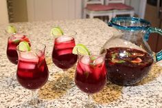 Hey, Mom! What's For Dinner?: Pomegranate Mojitos