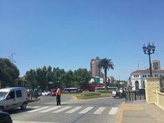 El centro de la ciudad.