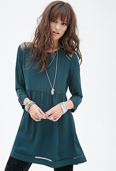 needs to fit very loosely at bust'''  Lace Fit & Flare Dress | FOREVER21 - 2000119399