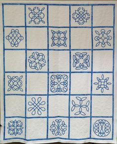 Celtic Knot quilt, Victoria Quilters Guild (BC, Canada)