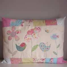 Roxy Creations: Pretty pillow case
