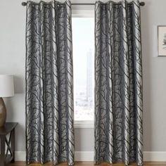 Edison Tree Grommet-Top Curtain Panel - JCPenney