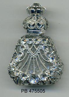 Botella de Perfume de cristal frasco de aceite esencial
