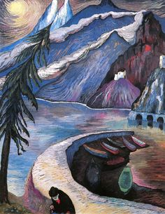 The Abandoned, Marianne von Werefkin (Russian-Swiss, 1860-1938)