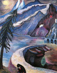 The Abandoned (Marianne von Werefkin - 1929)