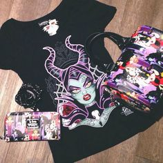Loving all the new Disney Villain items that just arrived <3