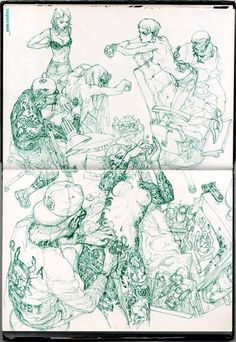 After Christmas Sale: Use promo code HOLIDAY10 and receive 10% off on Sketch Collection! Visit www.kimjunggius.com for instant access!