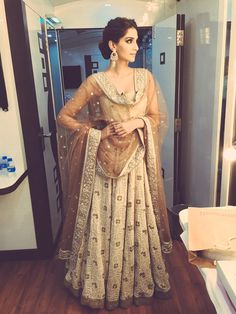 sonam kapoor bollywood lengha Indian fashion Indian couture South Asian desi clothes