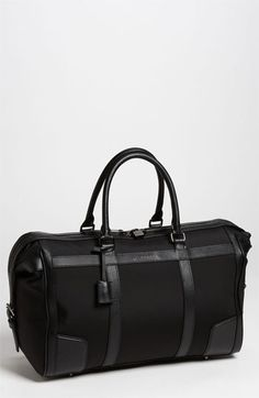 Burberry Duffel Bag.
